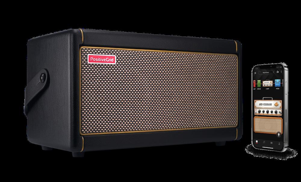 1 Practice Amp Spark Smart Guitar Amp By Positive Grid