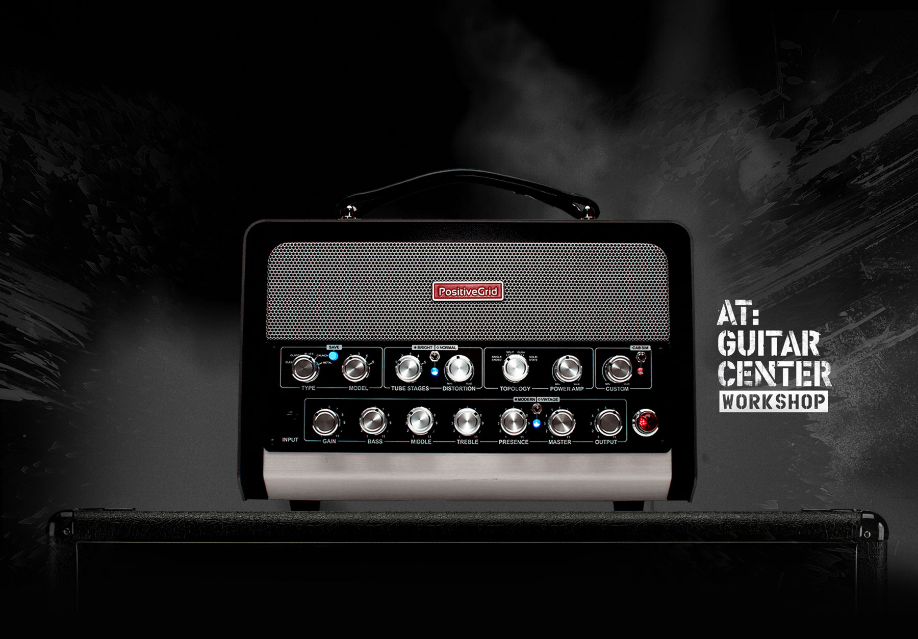 Positive Grid BIAS Head and Rack Workshops at Guitar Center